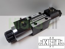 Imagen WEVNG6-4-110VAC Hidraoil electroválvula 4/3 NG6 centro A y B a T 110V AC
