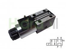 Imagen WEVNG6-2A-110VAC Hidraoil electroválvula 4/2 NG6 centro P con T 110V AC