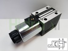Imagen WEVNG10-4A-110VAC Hidraoil electroválvula 4/2 NG10 centro A y B a T 110V AC
