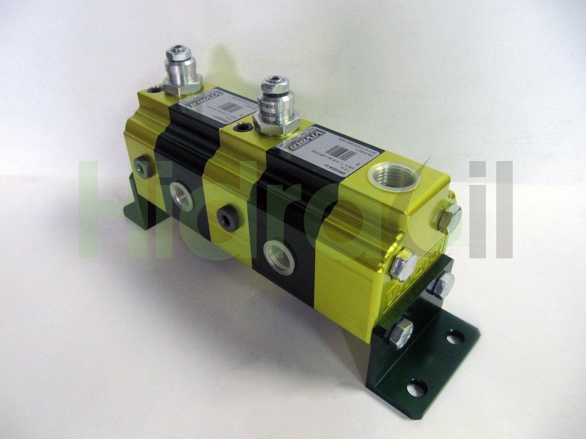 seleccionador 10-20 Hidráulico 2 vías divisor de acero